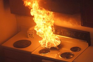 Stove Fire