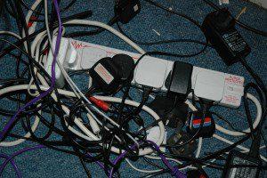 overloaded powerstrip