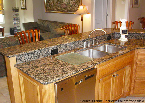 Countertops make great impression.