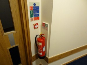 Fire Extinguisher on Wall