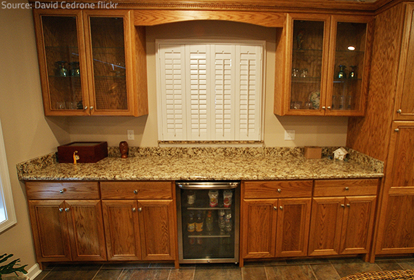 Different types of countertops have their own specifics but they will all work well.