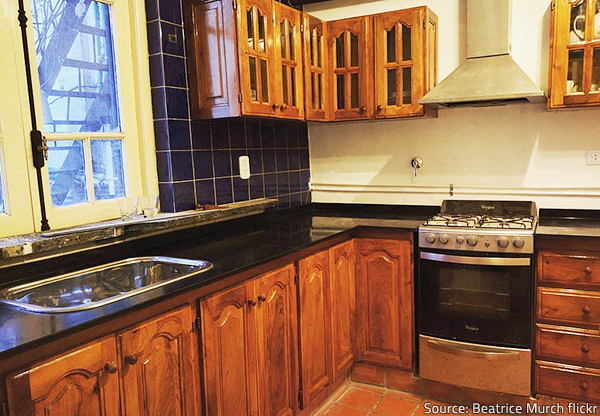 The polished finish is the most popular type of countertop finish.