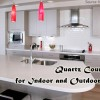 The many uses of quartz countertops.