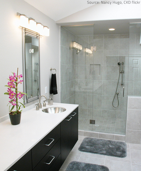 Ordinaire Quartz Bathroom Countertops Are Rapidly Gaining Popularity.