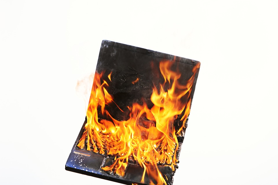 Computer-Fire-Damage--ServiceMaster