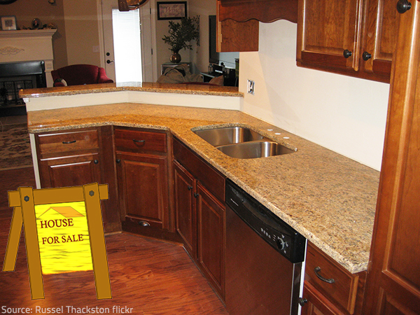 Granite adds a lot to the resale value of a home.