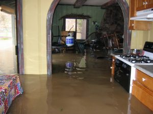 Flooded-Kitchen-Flood-Cleanup