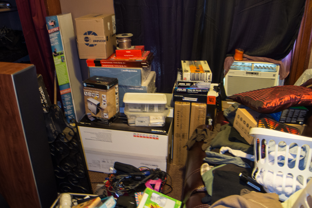 Social Services And Cluttered Rooms