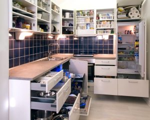 Open-cabinets-drawers-Flood-Cleanup