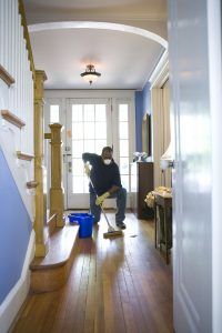Cleaning-Mold-from-Wood-Flooring-ServiceMaster