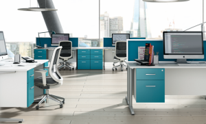 Updated-Technology-Organized-Office