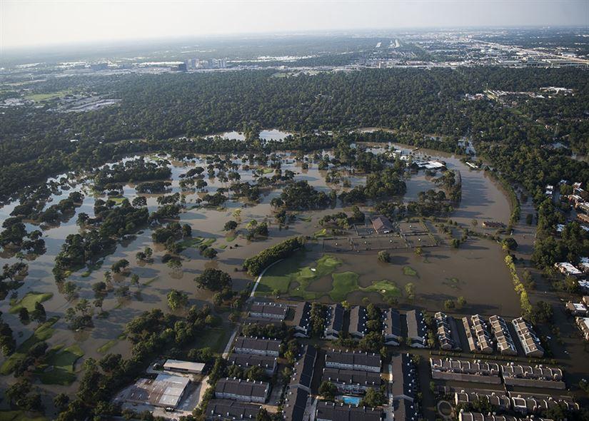 houston hurricane harvey flood