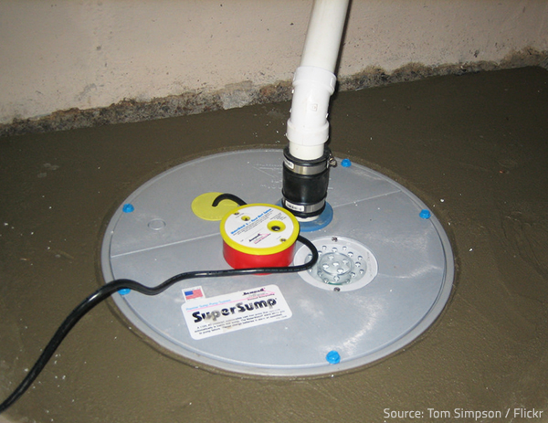 Make sure your sump pump is functioning properly.
