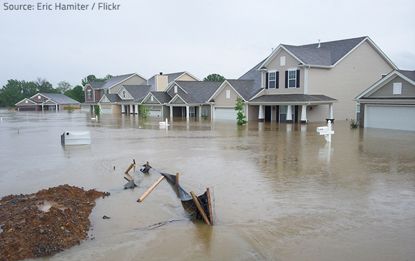 Floodwater can cause a lot of health problems.