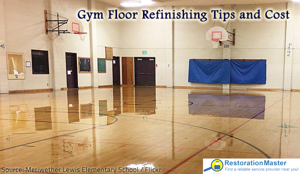 Gym Floor Refinishing Tips And Cost