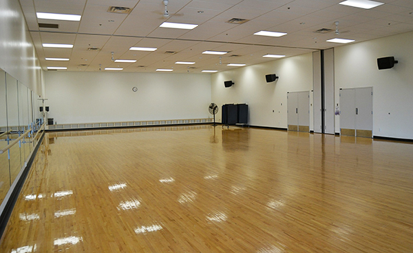 Gym floor recoating should be done annually.