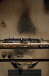 Fire-Damaged-Stove-ServiceMaster