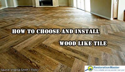 How to Choose and Install Wood Like Tile