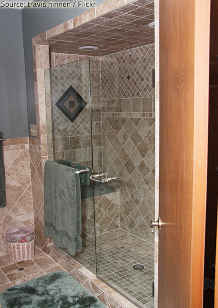 You can choose from a variety of shower options when remodeling your bathing space.