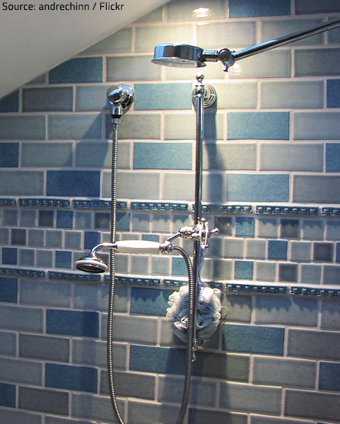 New shower heads offer a cheap and easy way to improve your bathing experience.