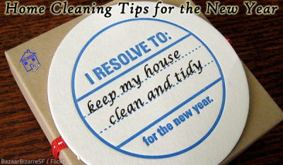Home Cleaning Tips for the New Year