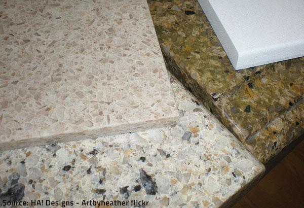 Quartz and quarztite are both very hard and quite beautiful.