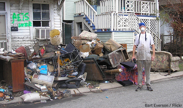 Hoarding cleanup is a difficult and dangerous process.