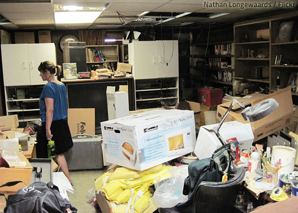 Hoarding is a serious mental disorder that causes depression and social withdrawal.