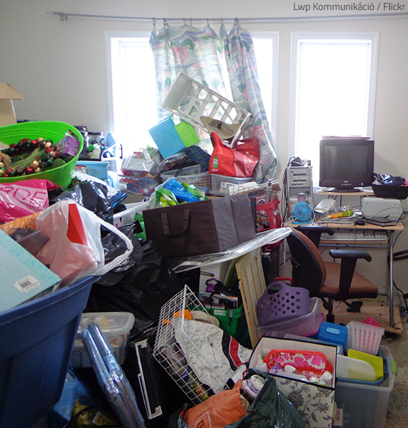 Hoarding poses physical threats as well.