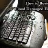 It is possible to restore flood damaged electronics if you know what to do.