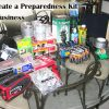 Find out what to put in an emergency preparedness kit for your business.