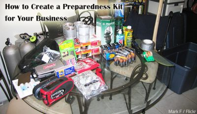 How to Create a Preparedness Kit for Your Business