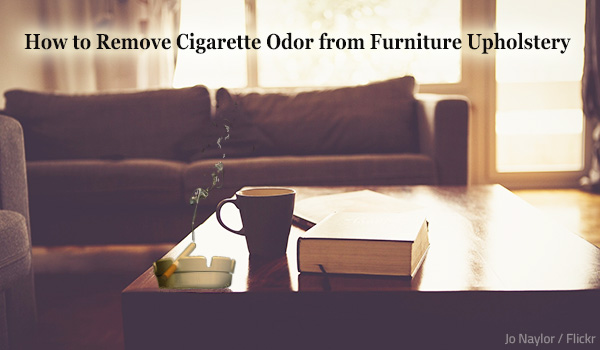 Cigarette Odors From Furniture Upholstery