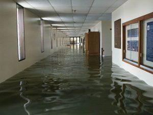 Flood-damage-US-Naval-Academy-In-Santa-Fe-Springs, CA
