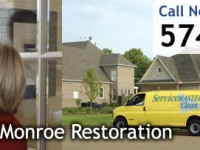 Restoration & cleaning services South Bend Indiana, ServiceMaster, call now for free quote!