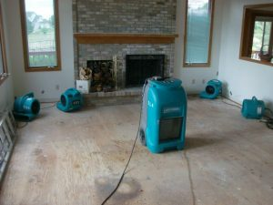 Flood Damage Restoration – Highlands Ranch, Colorado
