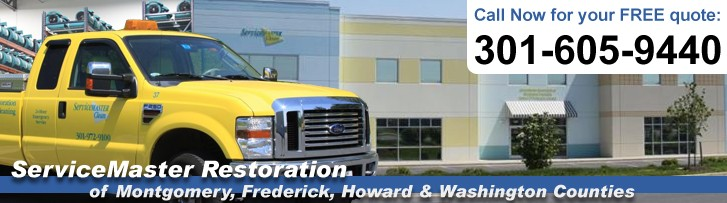 ServiceMaster Restoration of Montgomery, Frederick, Howard & Washington Counties