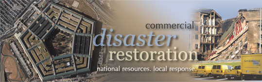 Disaster fire and water restoration