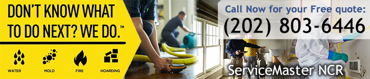 Disaster Restoration And Cleaning Services For Washington, DC