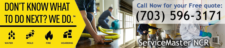Disaster Restoration and Cleaning in Alexandria, VA - ServiceMaster NCR