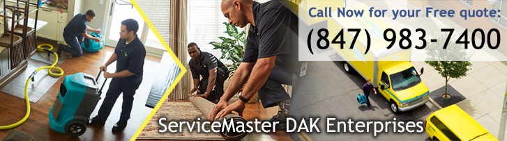 ServiceMaster DAK Enterprises - Disaster Restoration and Cleaning Services in Wilmette, IL