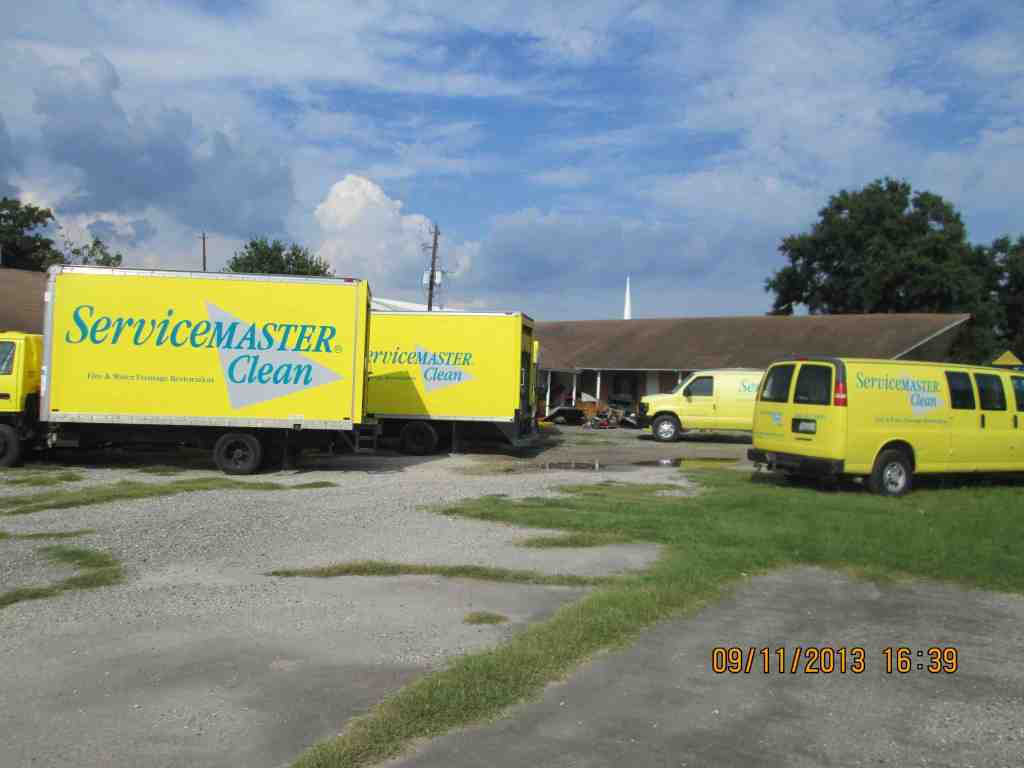 ServiceMaster Smoke Fire Damage Removal in Galveston, TX