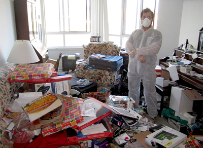 Hoarding Cleaning in Glendale, CA by ServiceMaster