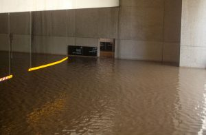 Flooded basement cleanup in Bridge City and Beaumont, TX