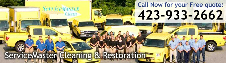 Disaster Restoration and Cleaning Services in Cleveland, TN - ServiceMaster