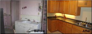 Kitchen Before After Restoration