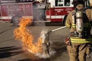 Fire Damaged Fryer