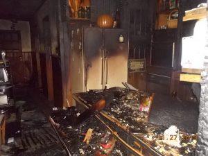 Kitchen Fire Damage