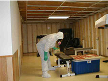 After mold remediation