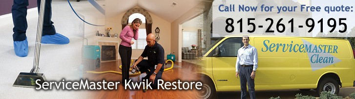 Disaster Restoration and Cleaning Services in Elgin, IL by ServiceMaster Kwik Restore
